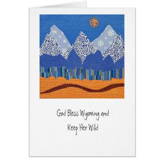 Cartão de Tetons