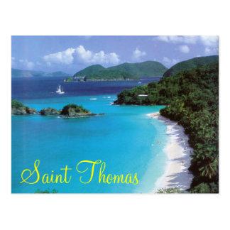 Cartão de Thomas de santo