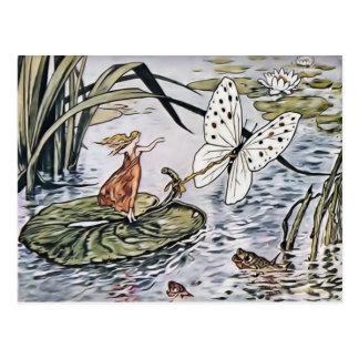 Cartão de Thumbelina