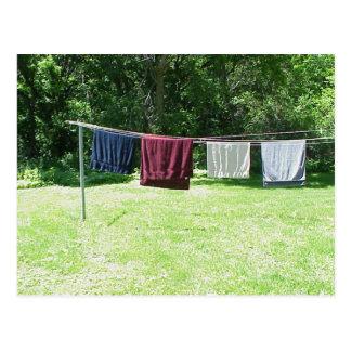 Cartão de toalhas