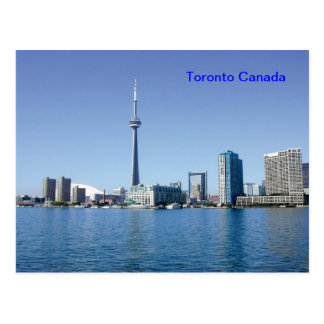 Cartão de Toronto Canadá