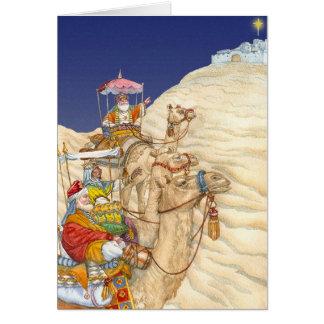 Cartão de três reis Natal
