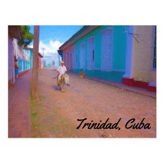Cartão de Trinidad Cuba
