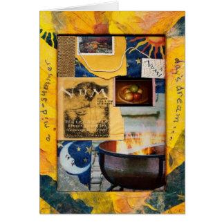 """Cartão De um dia de Médio-Verão de Tam Kozman """"o sonho """""""