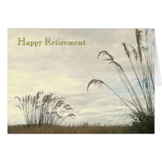 """""""Cartão de uma aposentadoria feliz"""""""