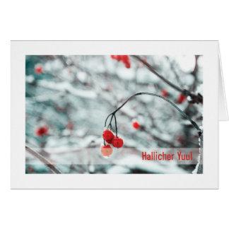 Cartão de Urglaawe Yuul:: Bagas do inverno