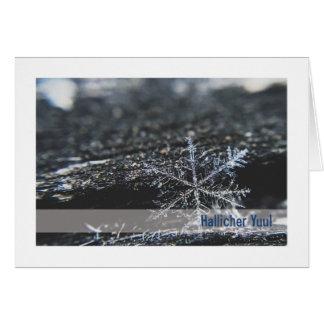 Cartão de Urglaawe Yuul:: Floco de neve (DEI)