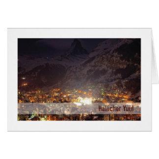 Cartão de Urglaawe Yuul:: Luzes da montanha