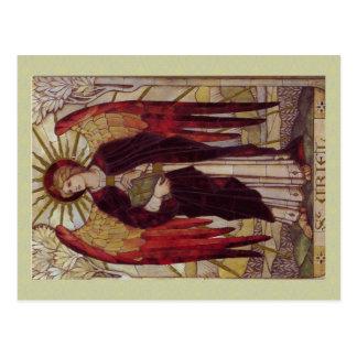 Cartão de Uriel do arcanjo