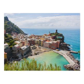 Cartão de Vernazza, Cinque Terre, Italia