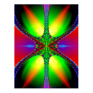 Cartão de vidro do Fractal da hora