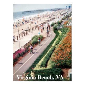 Cartão de Virginia Beach Virgínia desde 1992