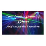 Cartão de visita 1 do DJ