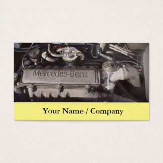 Cartão de visita 2 dos mecânicos