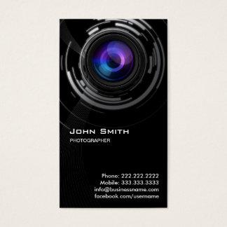 Cartão de visita abstrato do fotógrafo do