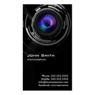 Cartão de visita abstrato do fotógrafo do redemoin