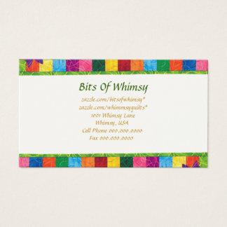 Cartão de visita acolchoado!