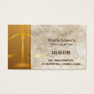 Cartão de visita advogada.