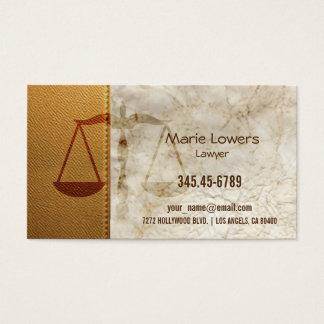 Cartão de visita advogado.