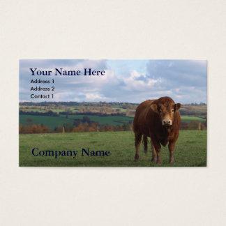 Cartão de visita agrícola