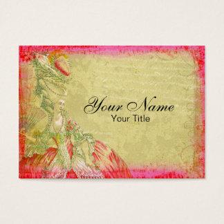 Cartão de visita antigo de Marie Antoinette