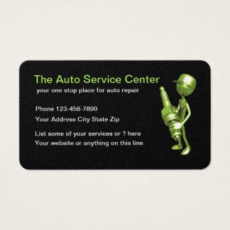 Cartão de visita automotriz simples legal