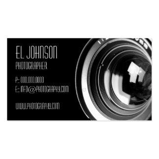 Cartão de visita básico da fotografia (Noir)