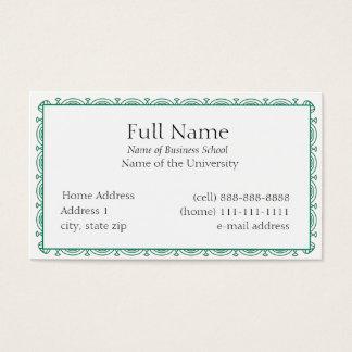 Cartão de visita básico para Estudantes ou Empresa