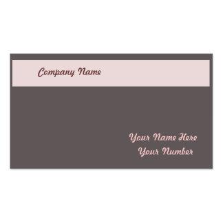 Cartão de visita/beaut/consultante /business