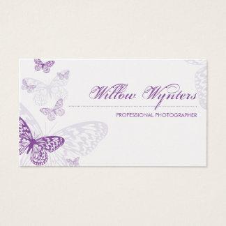 CARTÃO DE VISITA:: borboletas 3L