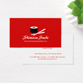Cartão de visita branco vermelho profissional do