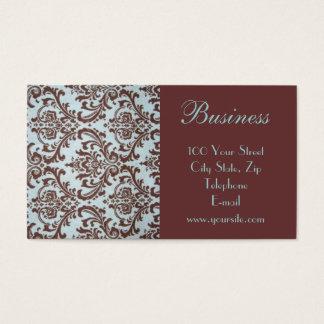 Cartão de visita chique 3 do tecido do boutique