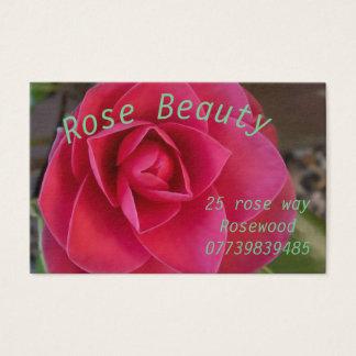 Cartão de visita cor-de-rosa das mães