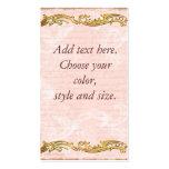 Cartão de visita cor-de-rosa de Versalhes