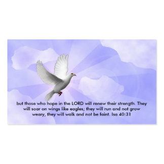 cartão de visita cristão