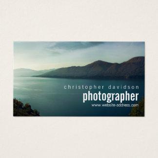 Cartão de visita customizável do fotógrafo