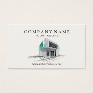 Cartão de visita da arquitetura