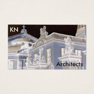 Cartão de visita da arquitetura da fotografia de