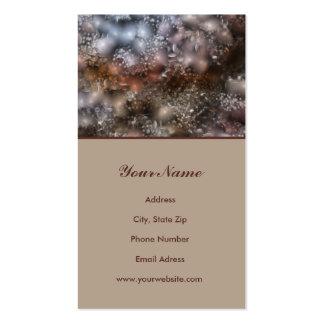 Cartão de visita da arte abstracta