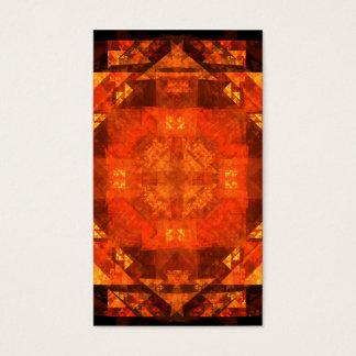 Cartão de visita da arte abstracta da bênção