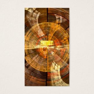 Cartão de visita da arte abstracta da integridade