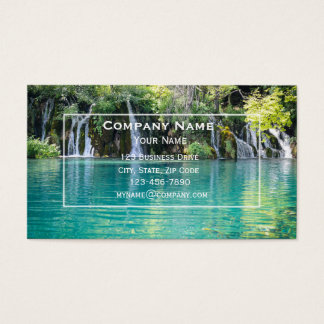 Cartão de visita da cachoeira