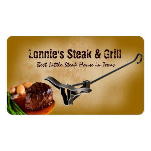 cartão de visita da churrasqueira