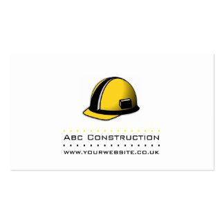 Cartão de visita da construção/construtor