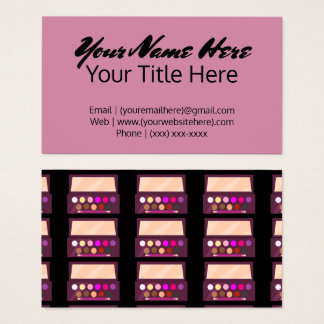 Cartão de visita da cosmetologia