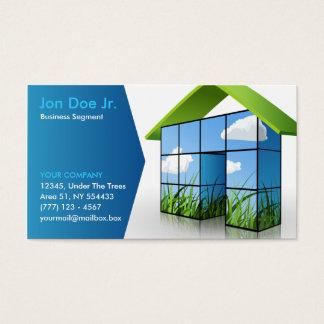 cartão de visita da ecologia