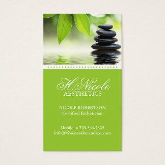 Cartão de visita da estética