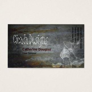 Cartão de visita da fada do Grunge