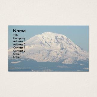 Cartão de visita da foto de Adams da montagem