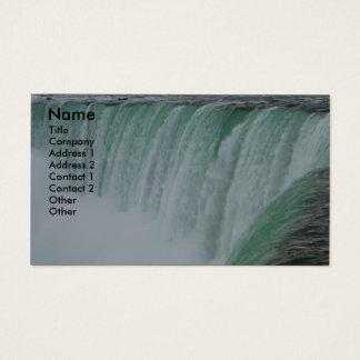 Cartão de visita da foto de Niagara Falls